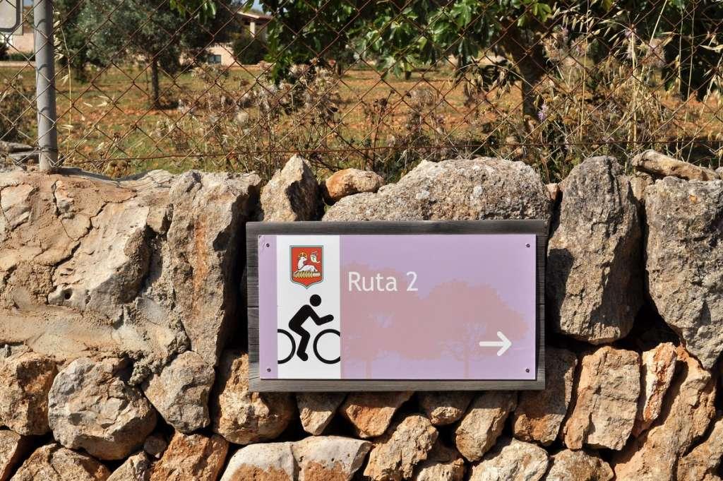 Radfahren rund um Santanyi